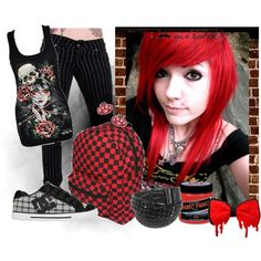 Someone somewhere... is praying that you make it home by emo-k on Polyvore featuring DC Shoes, Sourpuss, Weiss and emo