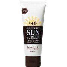 Lavanila - The Healthy SunScreen Face Cream SPF 40