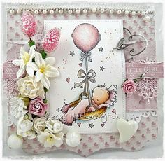 Morning everyone, I'm here today with my card for Live and Love Crafts . I couldn't post on Wednesday as my laptop just wouldn't play bal...