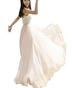 Amazon Dresses, Beach Skirt, Chiffon Maxi, Summer Beach, Fashion Brands, One Shoulder Wedding Dress, Topshop, Bohemian, Wedding Dresses