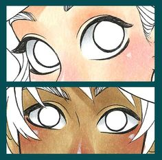 Coloring a Manga-style Character Part 2: Eyes by Chihiro Howe