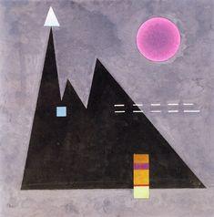 Wassily Kandinsky - Sharp in Dull (Scharf im dumpf, 1929