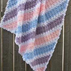 19 Free Baby Blanket Crochet Patterns | AllFreeCrochet.