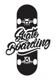Black And White Skateboarding With Skate Illustration For T-shirt Print. Skateboard Room, Skateboard Vector, Skate Tattoo, Posters Vintage, Skate Art, Shirt Print Design, Skateboards, Logo Design Inspiration, Graffiti Art