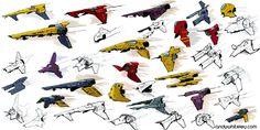Wipeout 3 Concepts