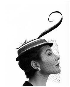 Bettina Graziani, photo by Georges Dambier for Arachnée.