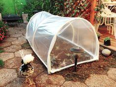Cómo hacer un mini invernadero con tubos de pvc