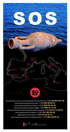 El patrimonio arqueológico subacuático sufre un grave problema de expolio. Su conservación depende de todos nosotros.