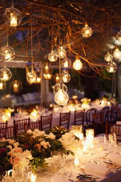 so romantic and ambient  must have lots of lights!