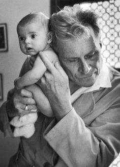 In lieu of a stethoscope, Albert-André Nast, a blind doctor in France, holds his ear to the back of a 3-month old, 1953: http://ti.me/13YOB49  (Thomas D. McAvoy—Time & Life Pictures/Getty Images)
