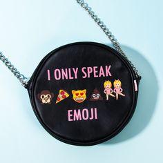 I ONLY SPEAK EMOJI  #Todomoda #EmojixTodomoda #Emoji