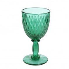 HOUSE OF HACKNEY Large Diamond Wine Glass - Green