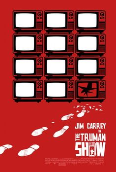 The Truman Show: not a huge fan of the film, but gosh this poster rocks!