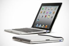 iPad를 Laptop으로 변신시켜주는 무선키보드. 아아, 사고 싶구나.