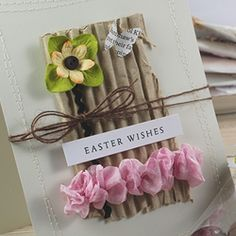 Tiny {Easter} Sentiments  Could just be a spring card, any occasion