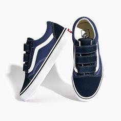 Madewell Womens Vans Unisex Old Skool Velcro Sneakers (Size 5 M 0d03865f1