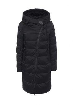 Куртка Clasna утепленная синтепоном выполнена из гладкого текстиля. Детали: несъемный капюшон, за...