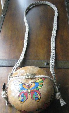 Butterfly Gourd Purse