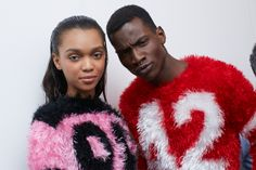 nyfw: Jeremy Scott backstage autumn/winter 14 | i-D Magazine