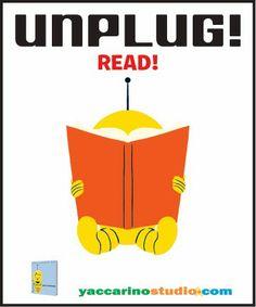 """Advice From Dan Yaccarino: """"Unplug! Read!"""""""