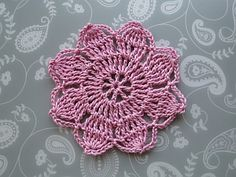 My flower crochet patterns include a whirly flower, a riffle-ruffle button flower - oh, and a beautiful leaf braid, too!