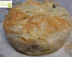 Los Postres de Elena: Tarta de filo con queso feta. http://www.lospostresdeelena.com/2014/04/tarta-de-filo-con-queso-feta.html