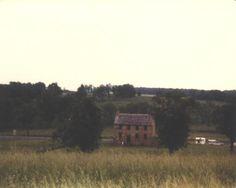 The Stone House at the Manassas-Bull Run battlefield in Virginia.