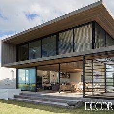 Best Ideas For Modern House Design : – Picture : – Description Tuatua House / Julian Guthrie Blog Architecture, Residential Architecture, Contemporary Architecture, Creative Architecture, Building Design, Building A House, Facade House, Modern House Design, Loft Design