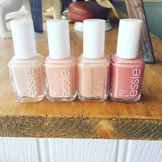 brush on a polished look that's totally put together with essie neutrals.