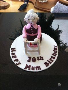 ... about cakes on Pinterest  Horse cake, Old ladies and Fondant horse