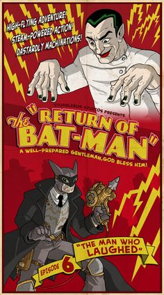 """Return of The Batman - Episode 6 """"The Man Who Laughed"""""""