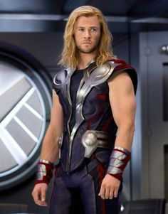 As the big screen version of the Marvel superhero Thor, bulked-up Aussie actor Chris Hemsworth is believable as someone who can deflect bullets with his hammer.
