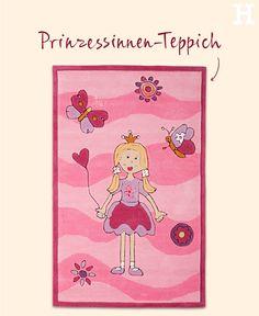 Awesome Perfekt f r Baby u Kinderzimmer von kleinen Prinzessinnen teppich rosa einrichten