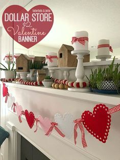 49 Latest Diy Valentine'S Day Decorations Ideas. How are you spending your Valentine's Day? Whether you're spending a romantic night on the town or chilling with family or friends, you can still. Diy Valentine's Day Decorations, Valentines Day Decorations, Valentines Day Party, Valentine Day Crafts, Love Valentines, Valentine Heart, Valentine Table Decor, Valentine Nails, Homemade Valentines