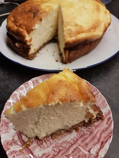 Cheesecakes, Fluffy Cheesecake, Mom Cake, Pastry Cake, Foods With Gluten, Cheesecake Recipes, Just Desserts, Baking Recipes, Sweet Treats
