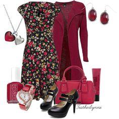 Spring wedding idea. Raspberry Tea - Polyvore