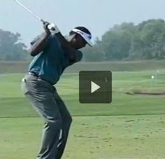 Vijay Singh Slow Motion Iron Swing PGA Tour Powerchalk