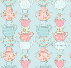 Mixcelánea: Estampado Tea Party