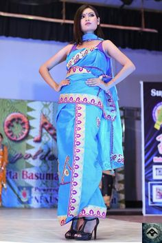 Northeast India, Bodo, Model Pictures, Indian Sarees, Sari, Culture, Girls, Clothes, Beauty