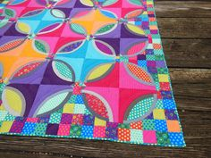 I know. If you have been following my blog, you have seen the Polka Dot Bikini quilt more than you want to. Here is one more post for my entry into the Bloggers' Quilt Festival at Amy's Creative Si...