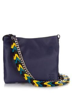Woven-strap leather bucket bag | Loewe | MATCHESFASHION.COM US