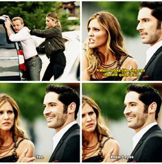 Aww Lucifer. He's in love  and now mother knows.