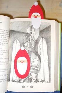 Pöttyös doboz: Mikulás könyvjelző St Nicholas Day, Xmas, Christmas, Techno, Advent, Bookends, Crafts For Kids, Santa, Diy
