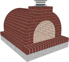 Finshed Mattone Barile Grande DIY Wood Fired Brick Pizza Oven Kit by BrickWood Ovens