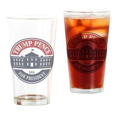 See our Drinking Glasses and tip in style. Our unique pint glass assortment and custom pint glasses are great for your own home bar or a housewarming gift. Custom Pint Glasses, Trump Pence, Drinking Glass, Glass Design, Cold Drinks, Own Home, Vivid Colors, Ontario, Canada