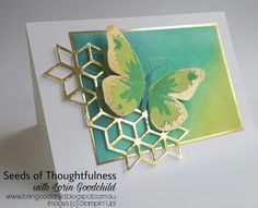 Welcome to the Stampin' Dreams Blog Hop, running monthly. You are currently visiting Seeds of Thoughtfulness with Lorin Goodchild from...