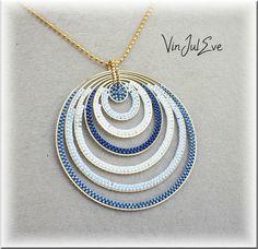 collier Galatsi bleu