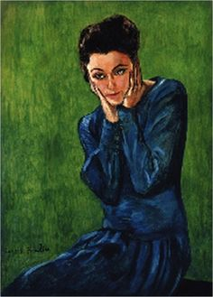 Femme sur fond vert (1938) by FRANCIS PICABIA.