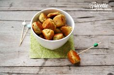 polpettine mozzarella Tasty, Yummy Food, Foods With Gluten, Healthy Options, Creative Food, Mozzarella, Meal Planning, Cereal, Appetizers