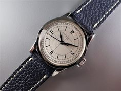 ref.96 SS 1937y sector dial Patek Philippe, Omega Watch, Watches, Leather, Accessories, Clocks, Clock